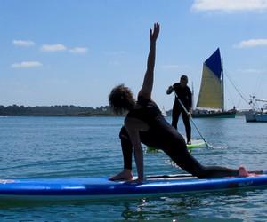 Rando yoga paddle en Juin