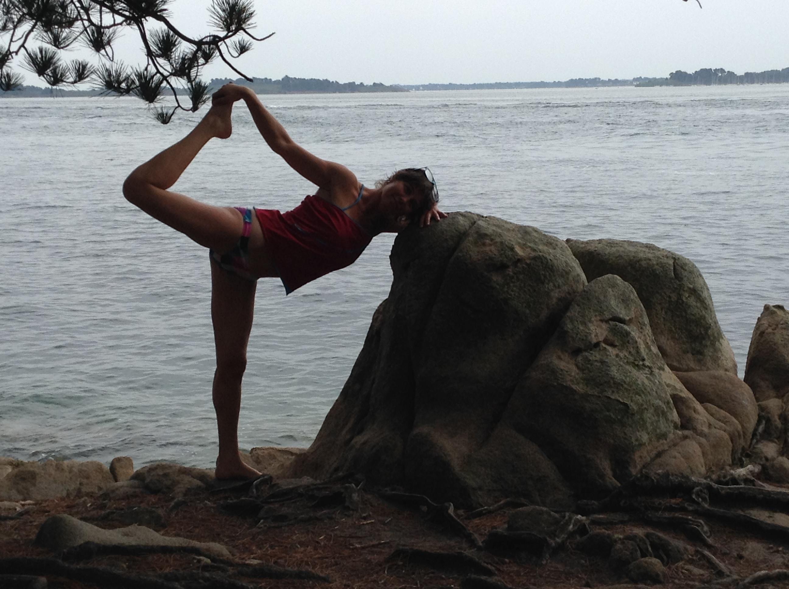yoga au milieu des arbres – samedi 26 mai proximité de conleau