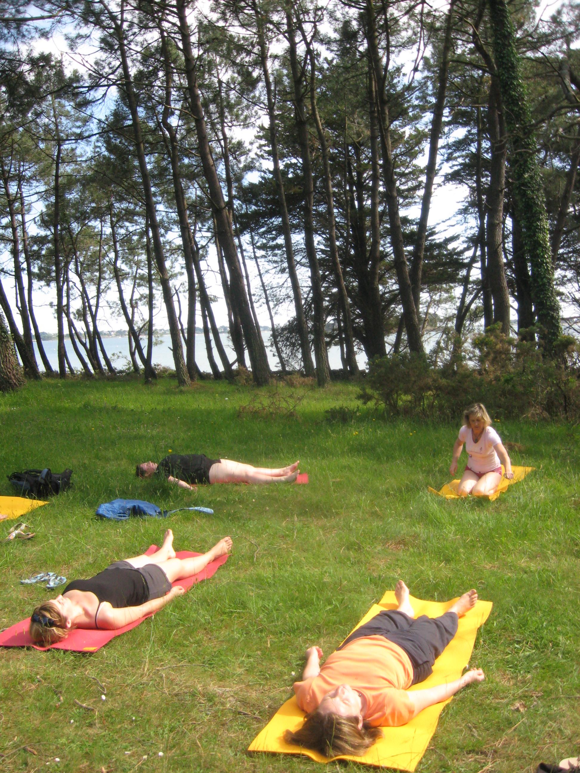 cours de yoga et yoga parent enfant juillet 2019 à Vannes